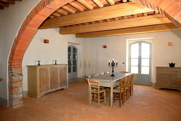 Galleria fotografica cotto italia foto cotto fatto a - Piastrelle per salone ...