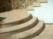 gradini circolari per esterno