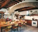 pavimento di una cucina in cotto antico