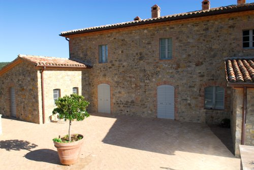 Pavimentazione esterna casa di campagna decorazioni per la casa