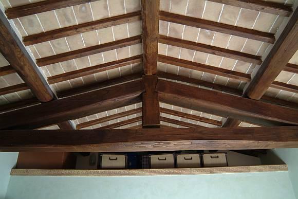 Sotto tetti in cotto fatto a mano  tavelle per sottotetto interno