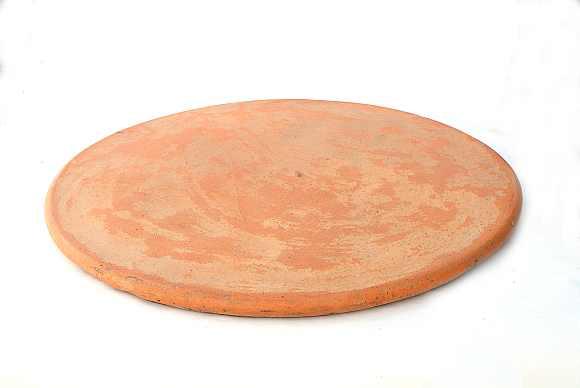 foto tavolo in cotto diametro 73 e 55 cm
