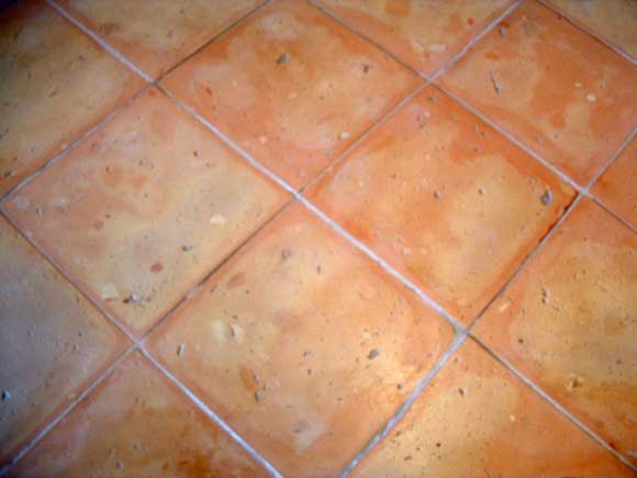 Pavimento in cotto a forma quadrata pavimento quadrato artigianale