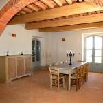 foto salone realizzato con pavimenti artigianali