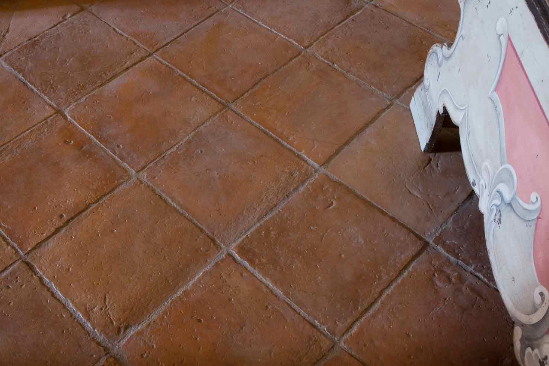 Pavimento antico in cotto fatto a mano cotto italia
